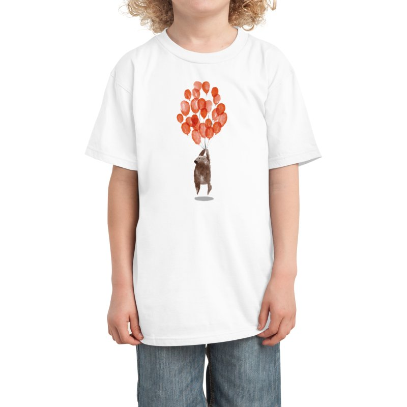 Almost Take Off Kids T-Shirt by Threadless Artist Shop