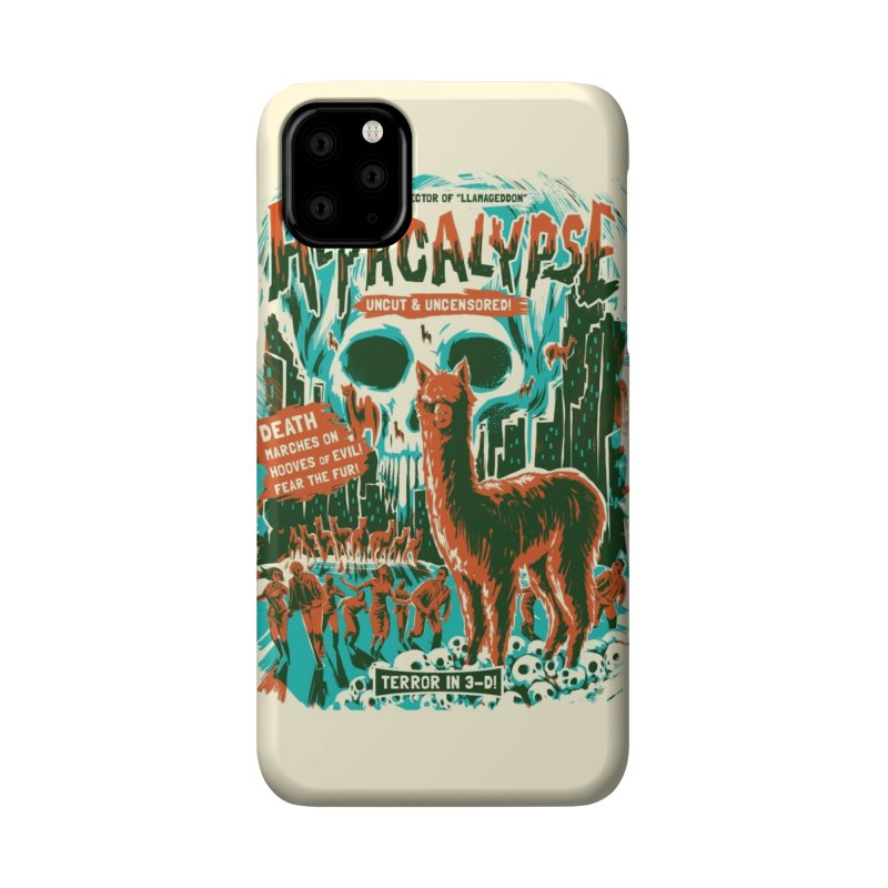 Alpacalypse! Accessories Phone Case by Threadless Artist Shop