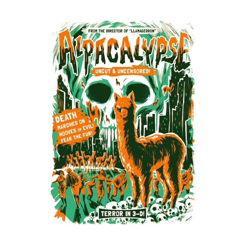 Alpacalypse! Women's T-Shirt by Threadless Artist Shop