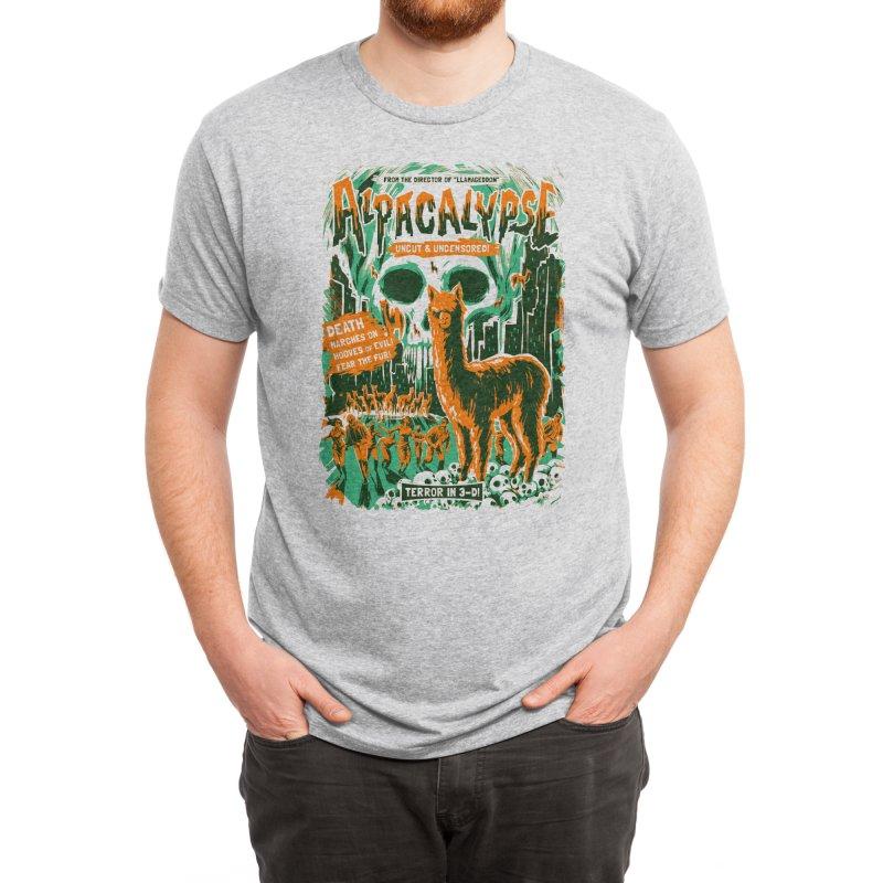 Alpacalypse! Men's T-Shirt by Threadless Artist Shop