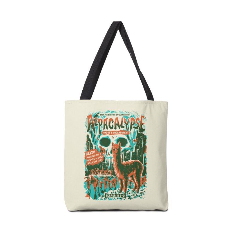 Alpacalypse! Accessories Bag by Threadless Artist Shop