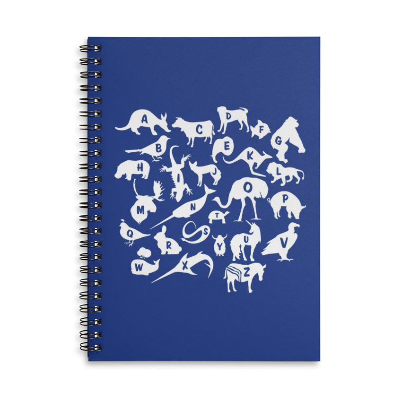 Alphabet Zoo Accessories Notebook by Threadless Artist Shop