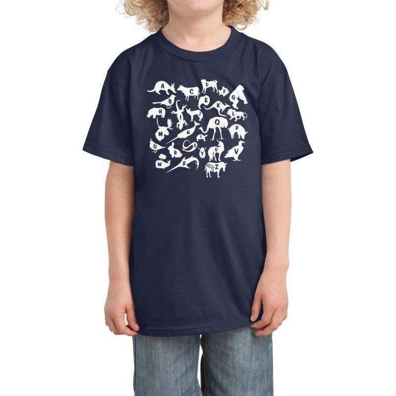 Alphabet Zoo Kids T-Shirt by Threadless Artist Shop