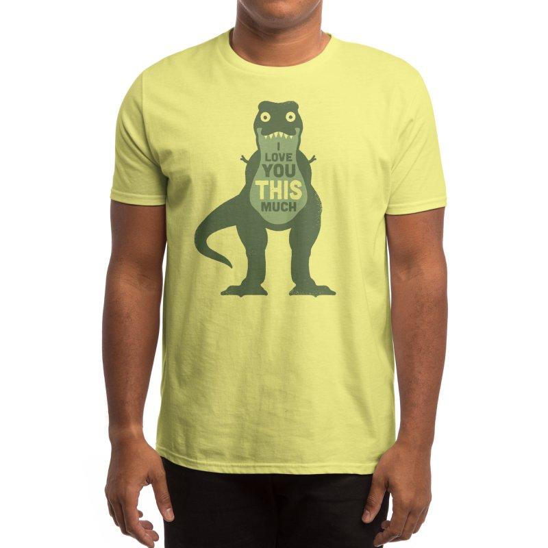 Amourosaurus Men's T-Shirt by Threadless Artist Shop