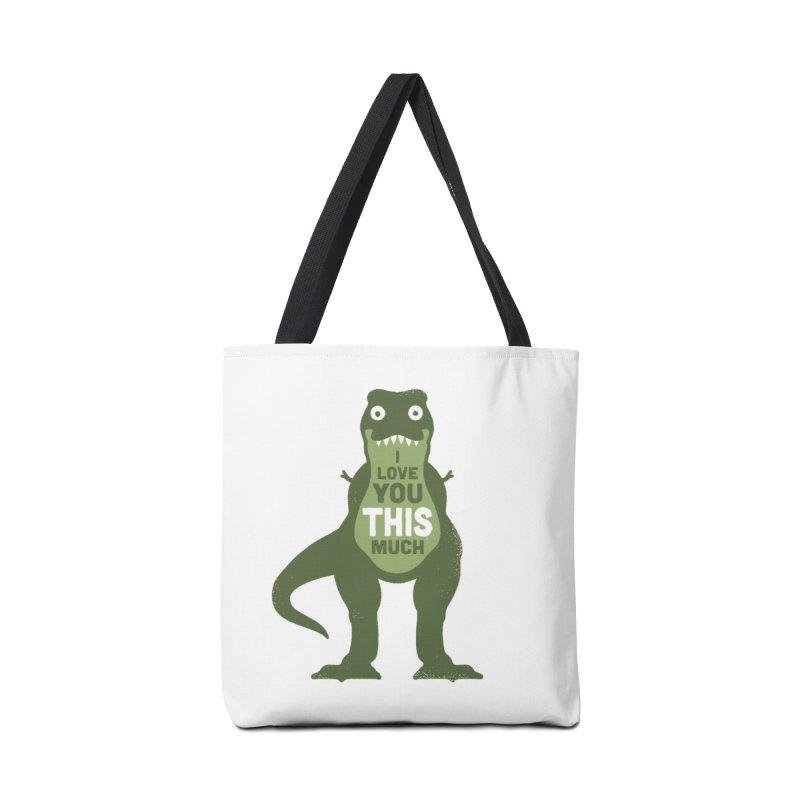 Amourosaurus Accessories Bag by Threadless Artist Shop