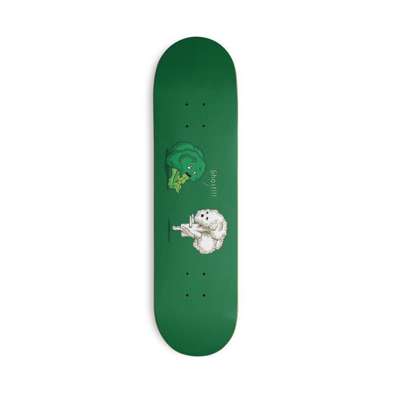 A Vegan Horror Story Accessories Skateboard by Threadless Artist Shop