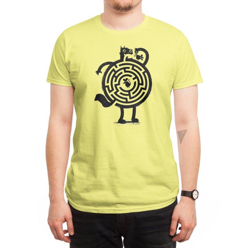 Amazin' Cat Men's T-Shirt by Threadless Artist Shop