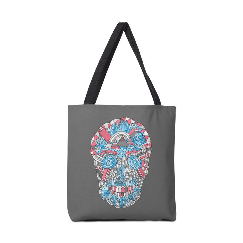 Anatomy of a Skull Accessories Bag by Threadless Artist Shop