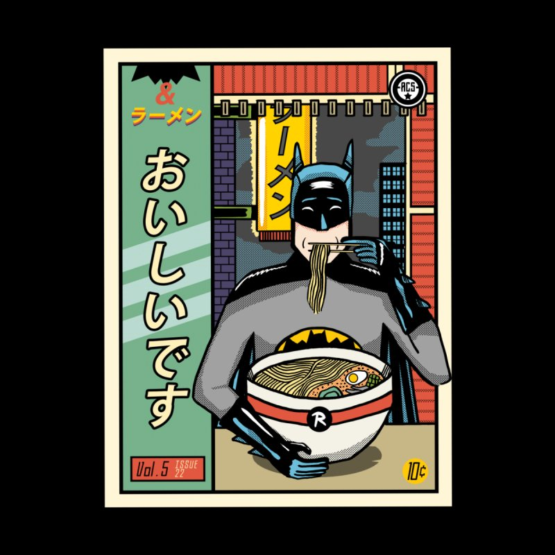 and Ramen Home Framed Fine Art Print by Threadless Artist Shop