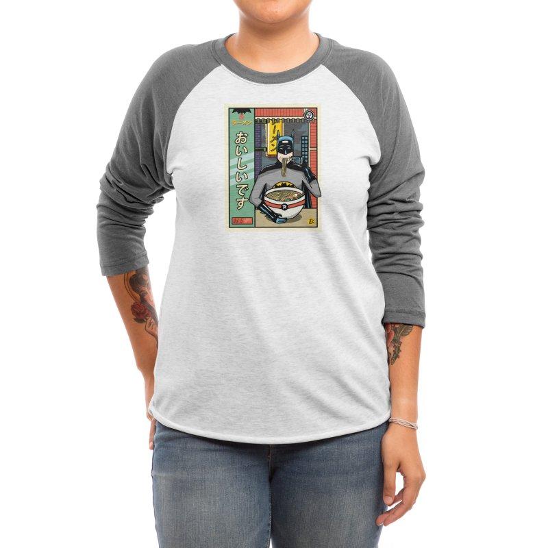 and Ramen Women's Longsleeve T-Shirt by Threadless Artist Shop