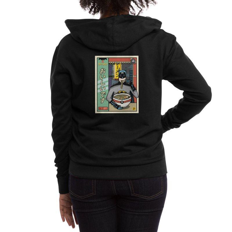 and Ramen Women's Zip-Up Hoody by Threadless Artist Shop