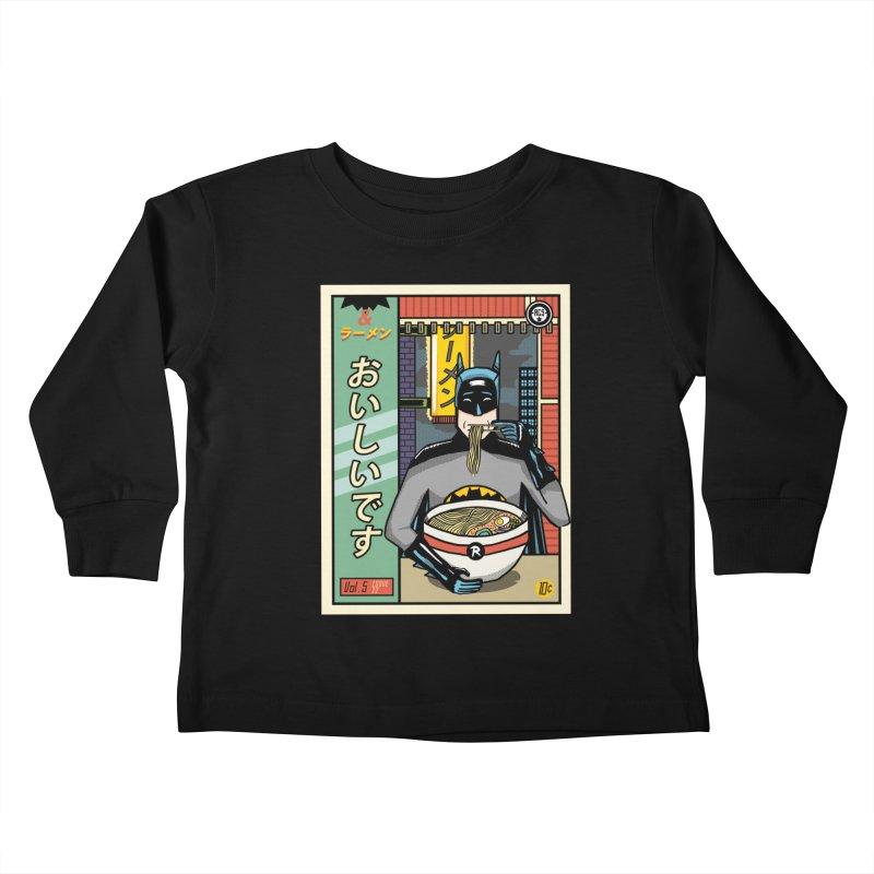 and Ramen Kids Toddler Longsleeve T-Shirt by Threadless Artist Shop