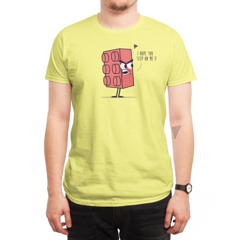 Angry Brick Men's T-Shirt by Threadless Artist Shop