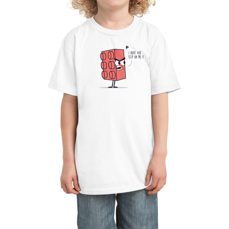Angry Brick Kids T-Shirt by Threadless Artist Shop