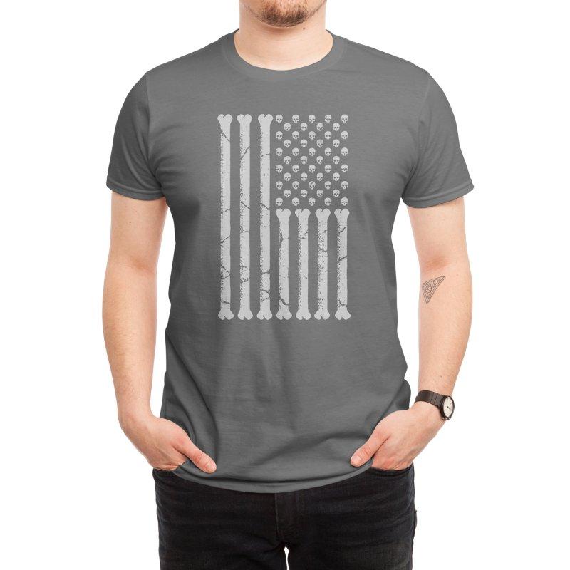 American Skulls and Bones Men's T-Shirt by Threadless Artist Shop