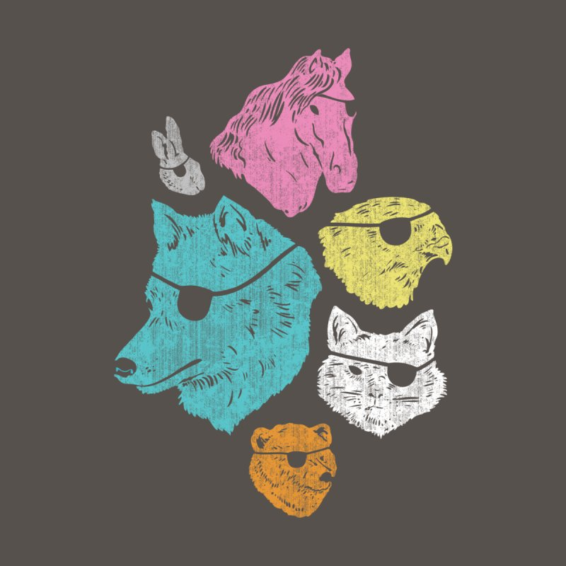 Animals with Eyepatches! Yes! Kids Toddler T-Shirt by Threadless Artist Shop
