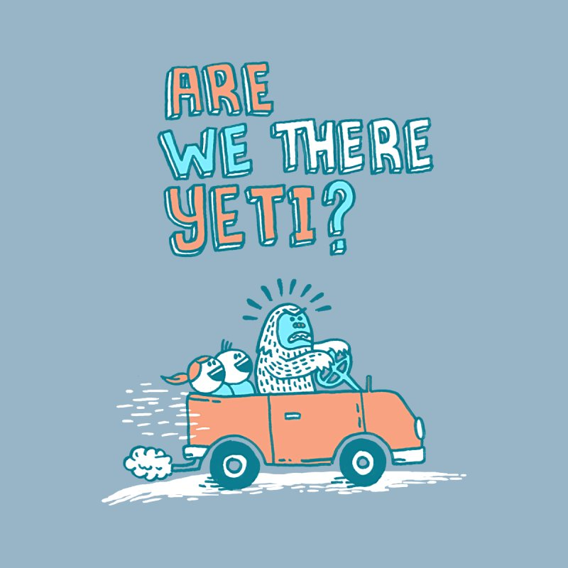Are We There Yeti?! Men's T-Shirt by Threadless Artist Shop