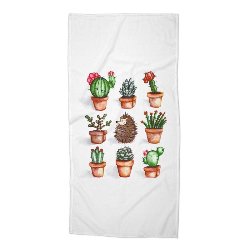 Among Friends Accessories Beach Towel by Threadless Artist Shop