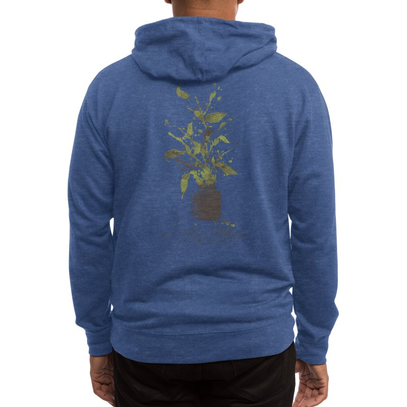 A Writer's Ink Men's Zip-Up Hoody by Threadless Artist Shop