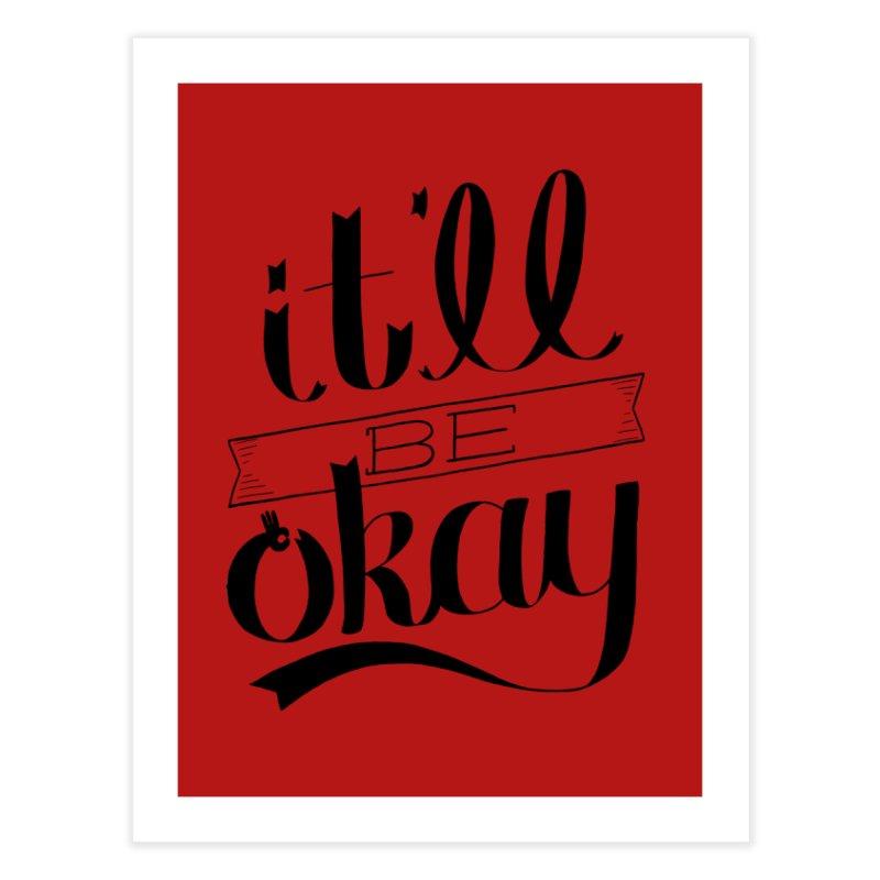 A-OK Home Fine Art Print by Threadless Artist Shop