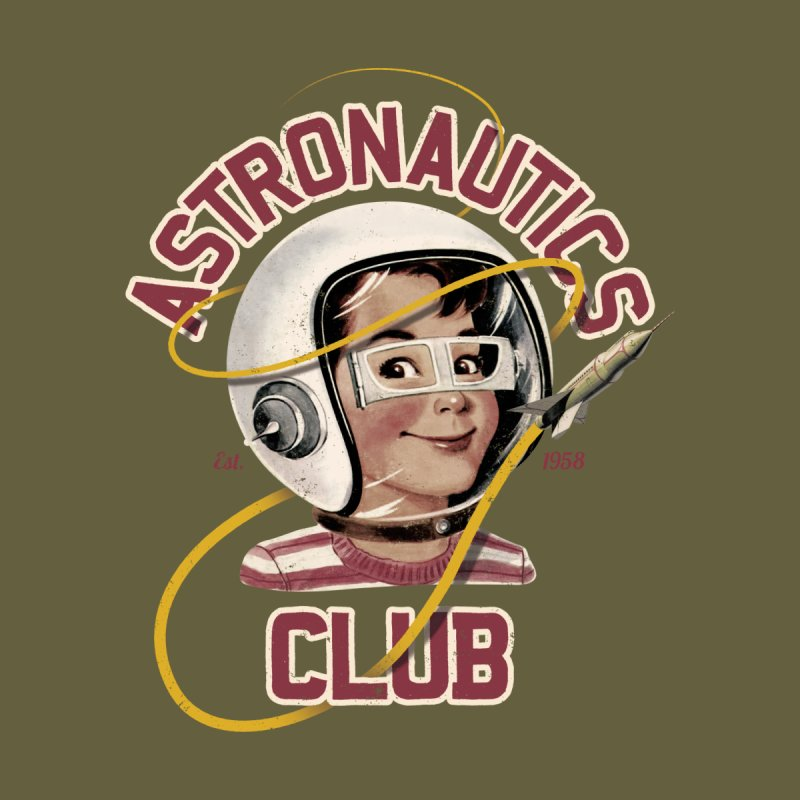 Astro Club Men's T-Shirt by Threadless Artist Shop