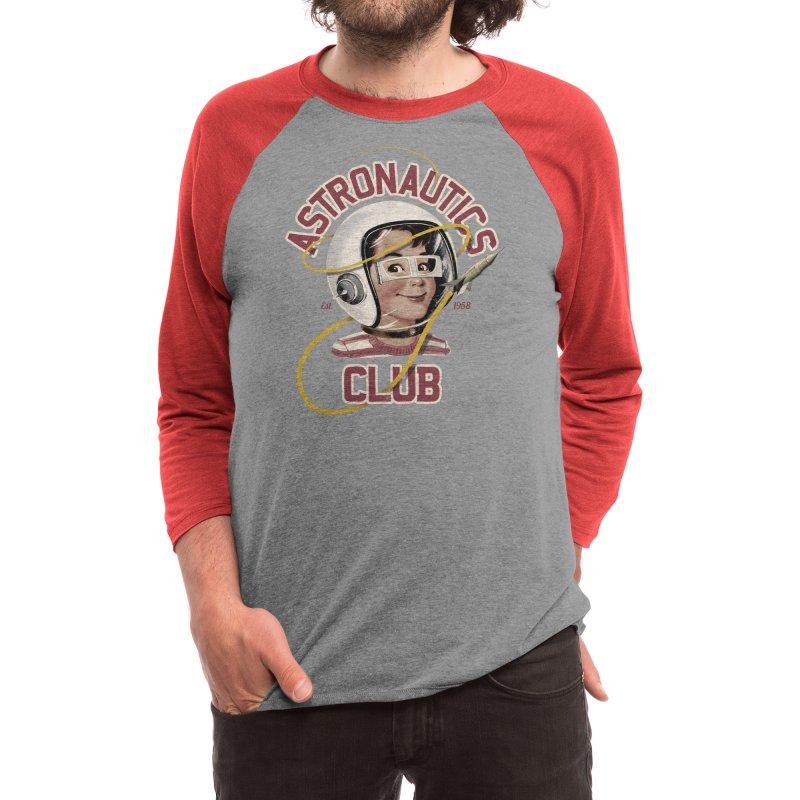 Astro Club Men's Longsleeve T-Shirt by Threadless Artist Shop