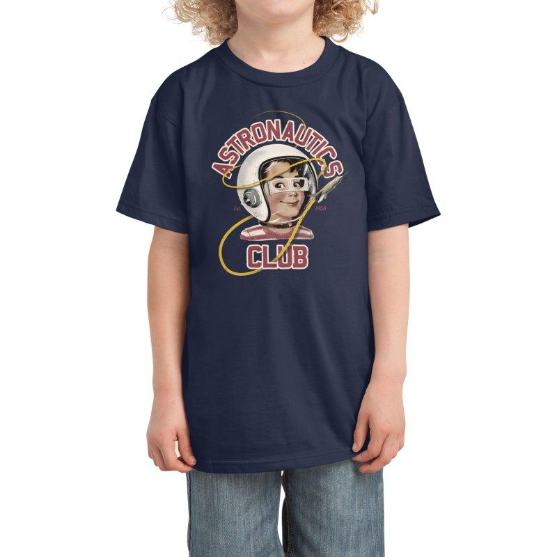 Astro Club Kids T-Shirt by Threadless Artist Shop