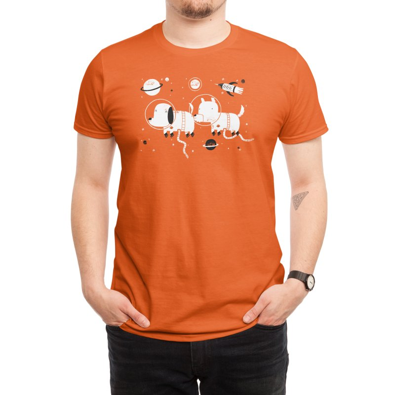 Astro Dogs Men's T-Shirt by Threadless Artist Shop