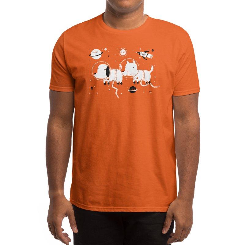 Astro Dogs Men's T-Shirt by Threadless Artist Shop