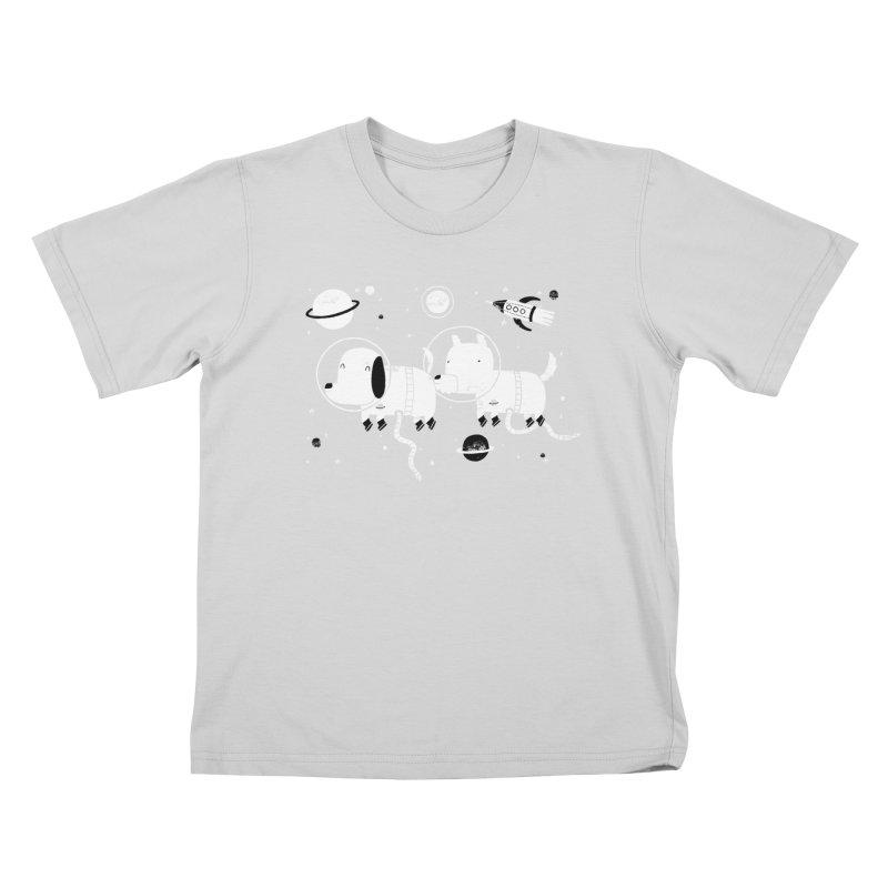 Astro Dogs Kids T-Shirt by Threadless Artist Shop