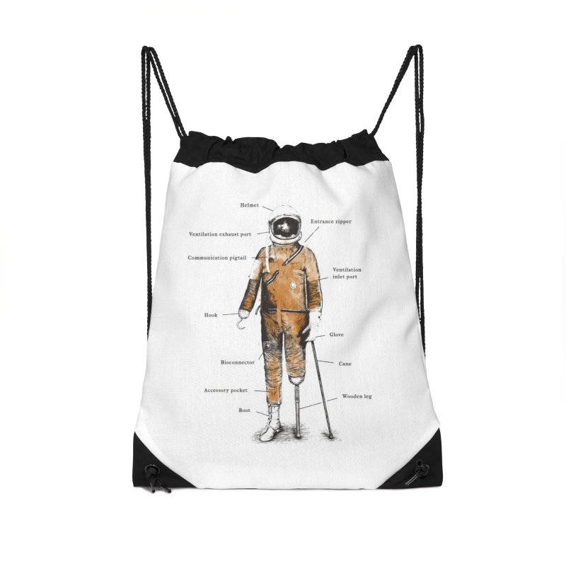 Astropirate Accessories Bag by Threadless Artist Shop