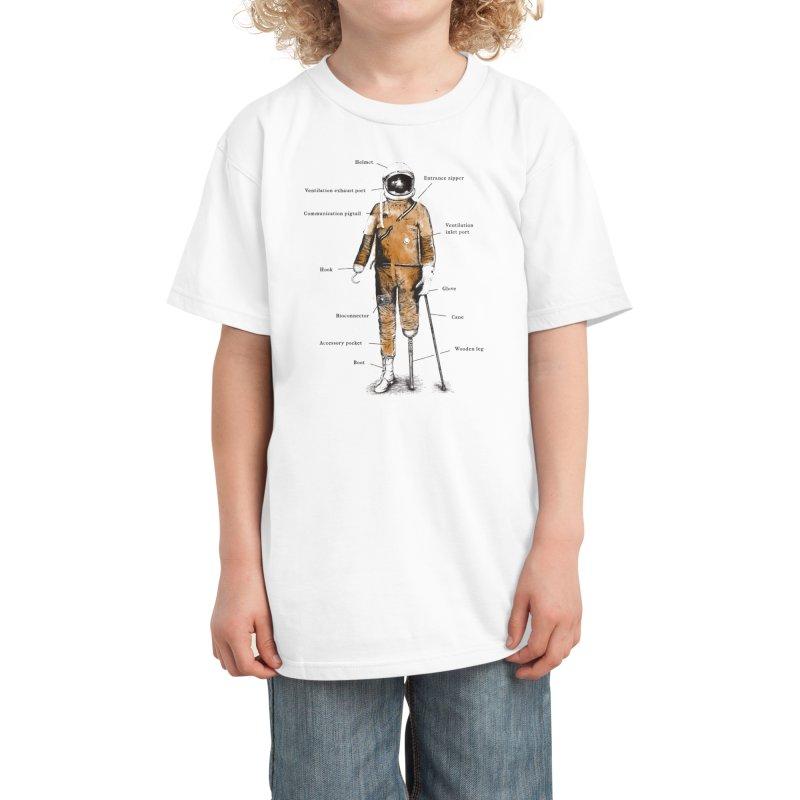 Astropirate Kids T-Shirt by Threadless Artist Shop