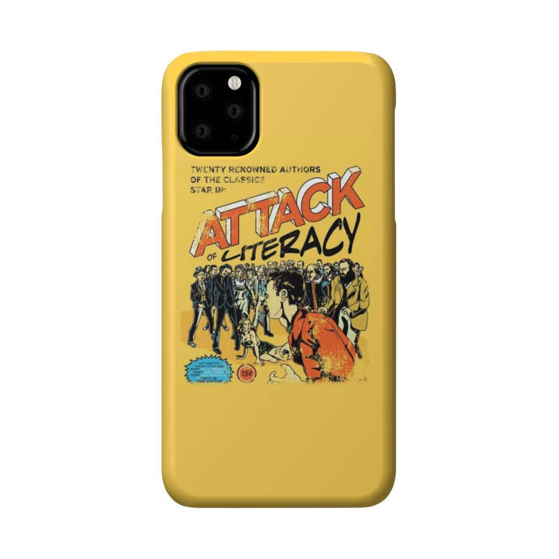 Attack of Literacy! Accessories Phone Case by Threadless Artist Shop