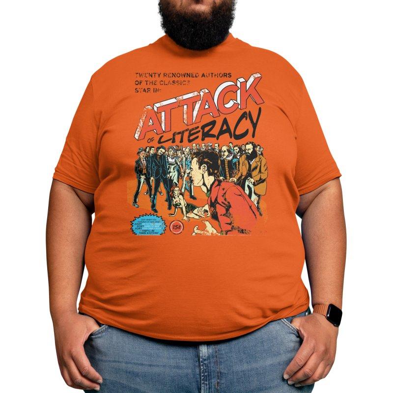 Attack of Literacy! Men's T-Shirt by Threadless Artist Shop