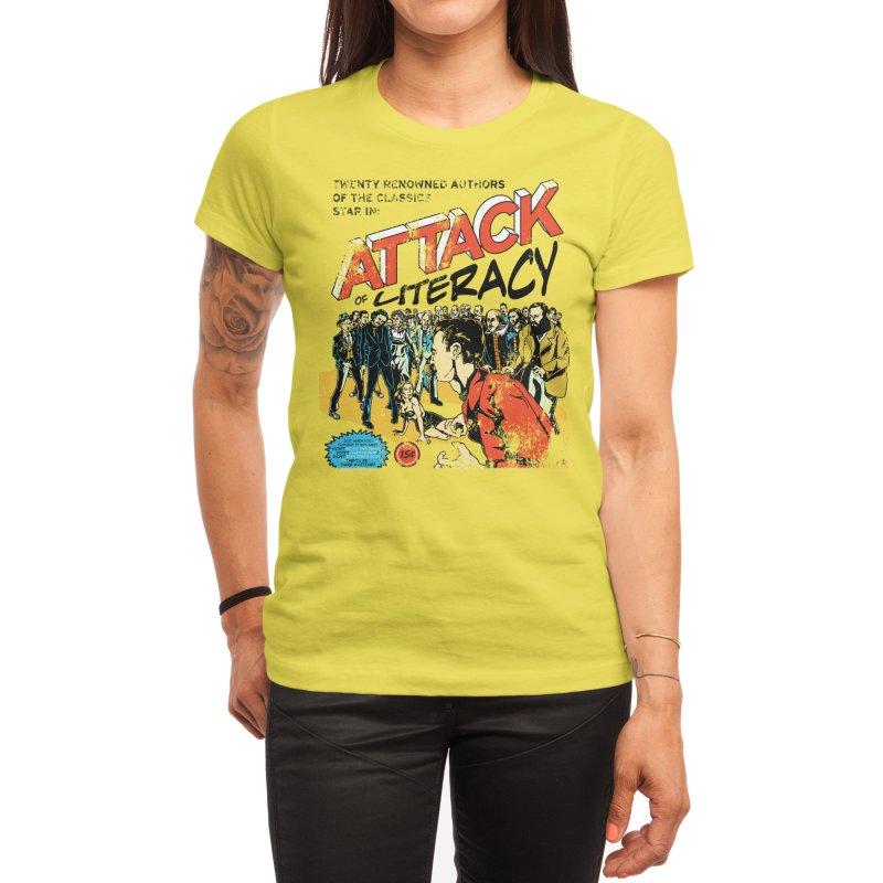 Attack of Literacy! Women's T-Shirt by Threadless Artist Shop