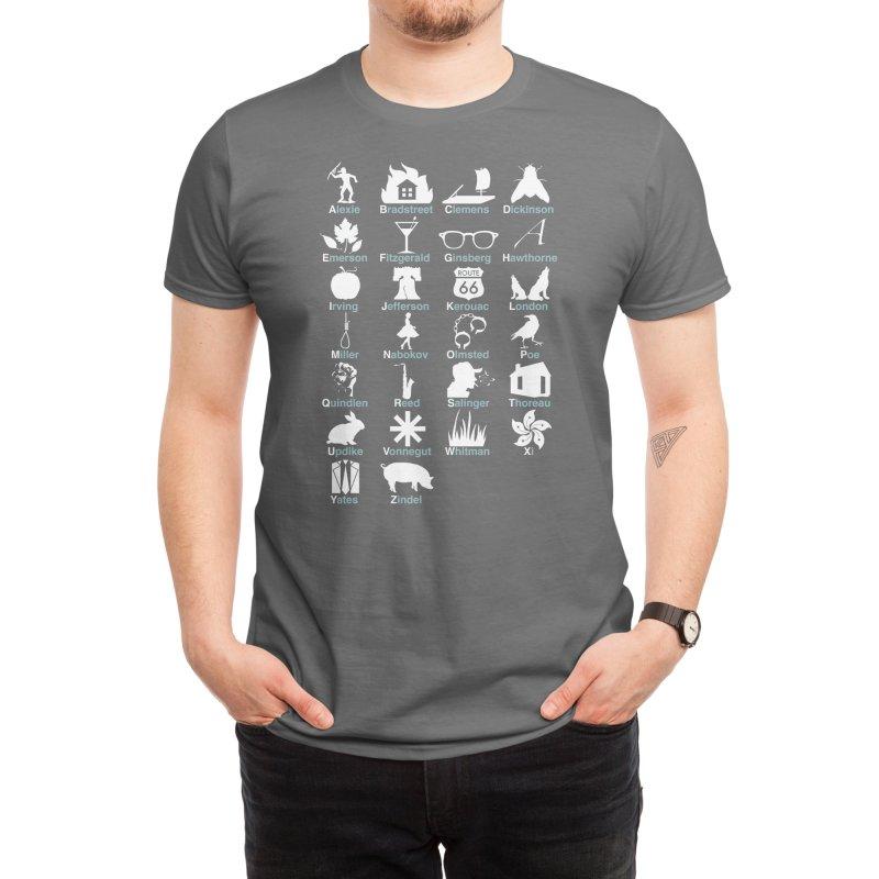 ABC's of Literature Men's T-Shirt by Threadless Artist Shop