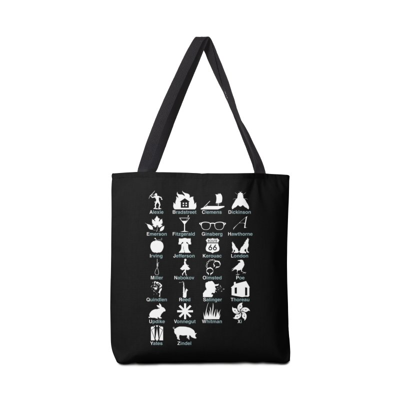 ABC's of Literature Accessories Bag by Threadless Artist Shop