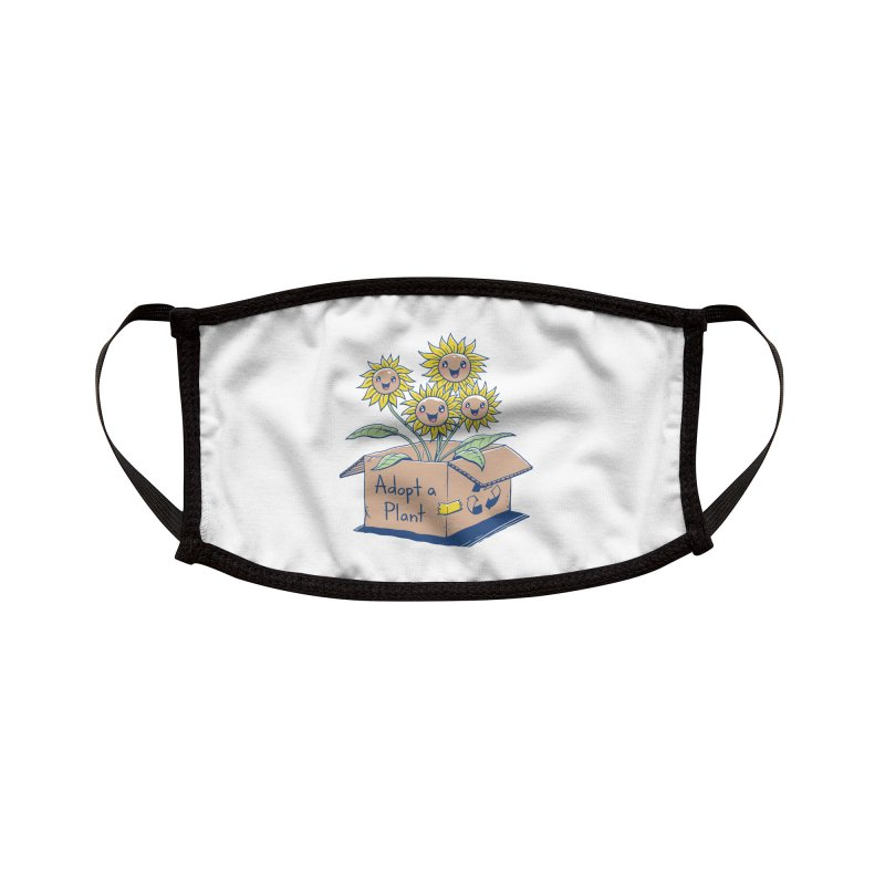 Adopt a Plant Accessories Face Mask by Threadless Artist Shop