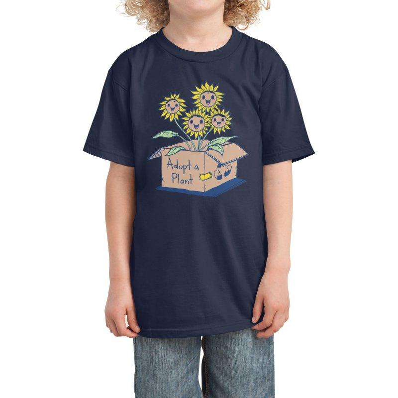 Adopt a Plant Kids T-Shirt by Threadless Artist Shop