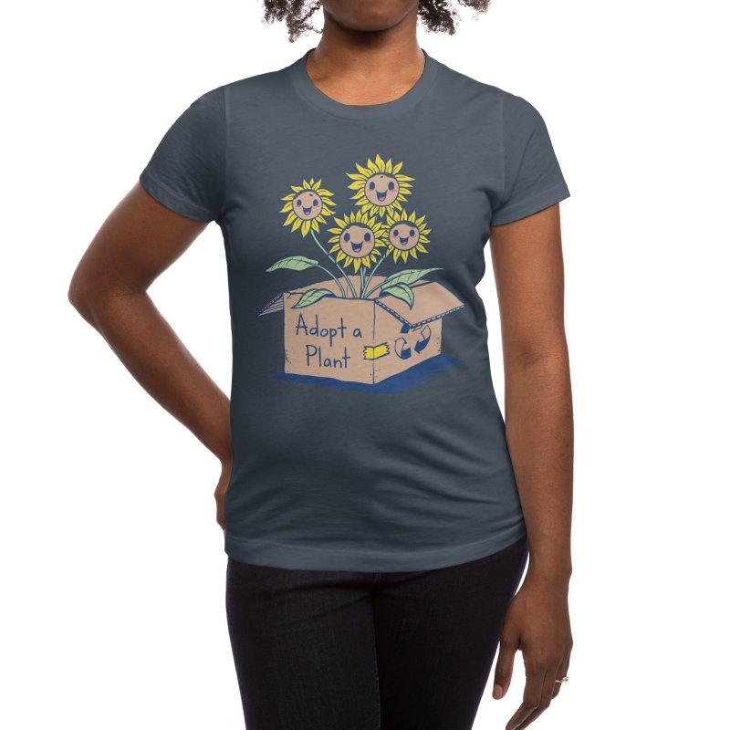 Adopt a Plant Women's T-Shirt by Threadless Artist Shop