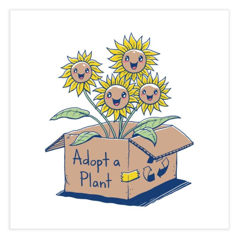 Adopt a Plant Home Fine Art Print by Threadless Artist Shop