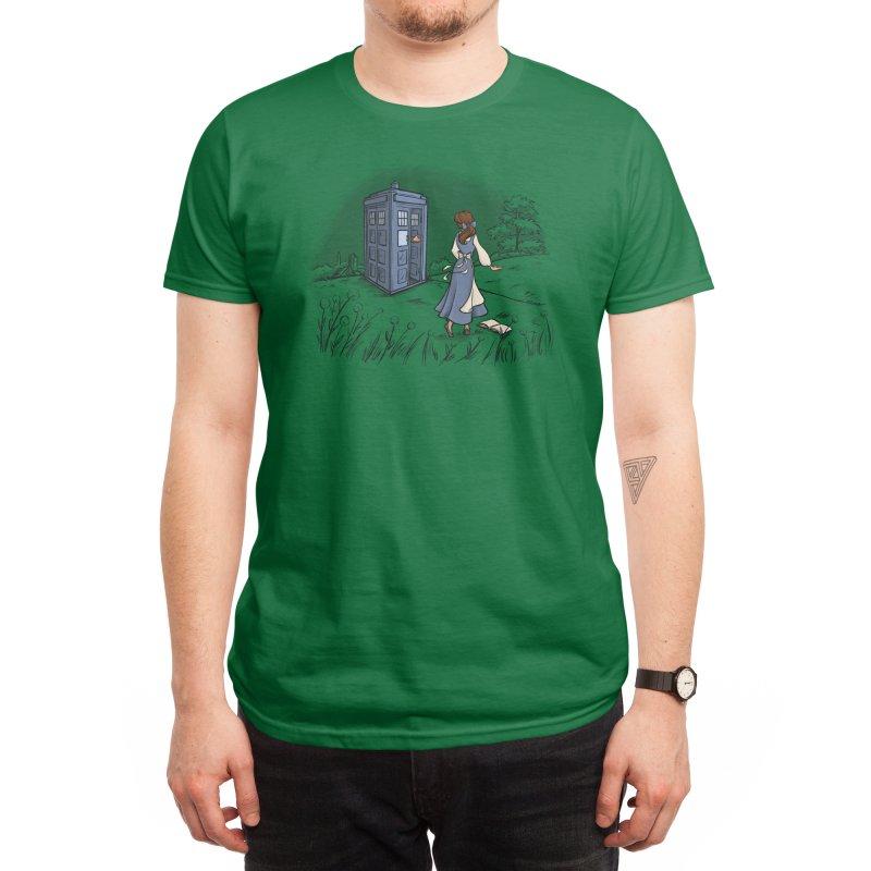 Adventure Awaits Men's T-Shirt by Threadless Artist Shop