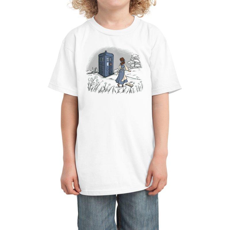 Adventure Awaits Kids T-Shirt by Threadless Artist Shop