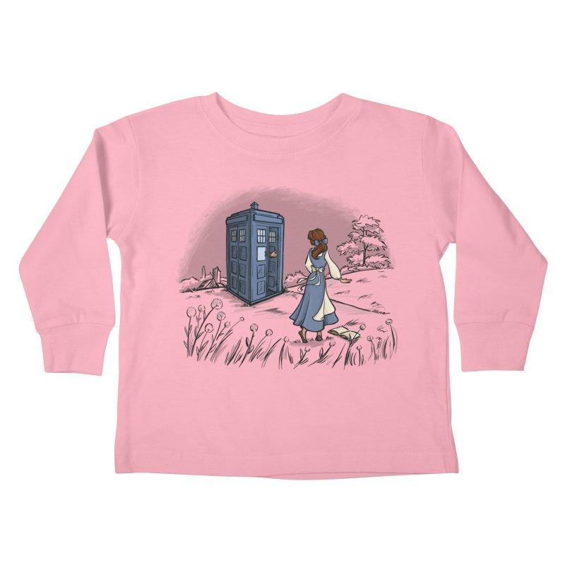 Adventure Awaits Kids Toddler Longsleeve T-Shirt by Threadless Artist Shop