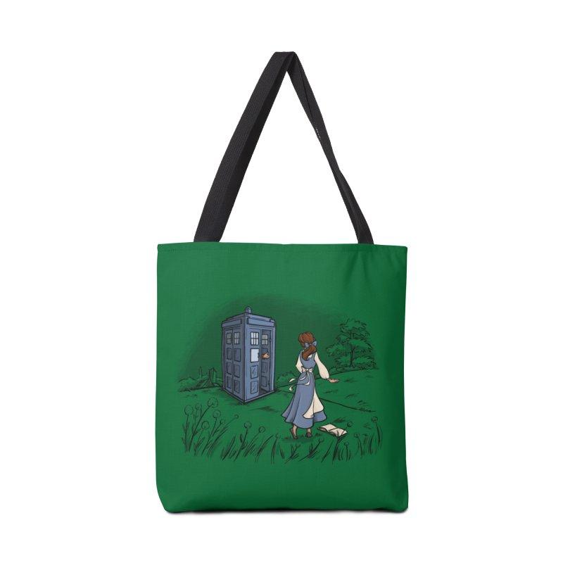 Adventure Awaits Accessories Bag by Threadless Artist Shop