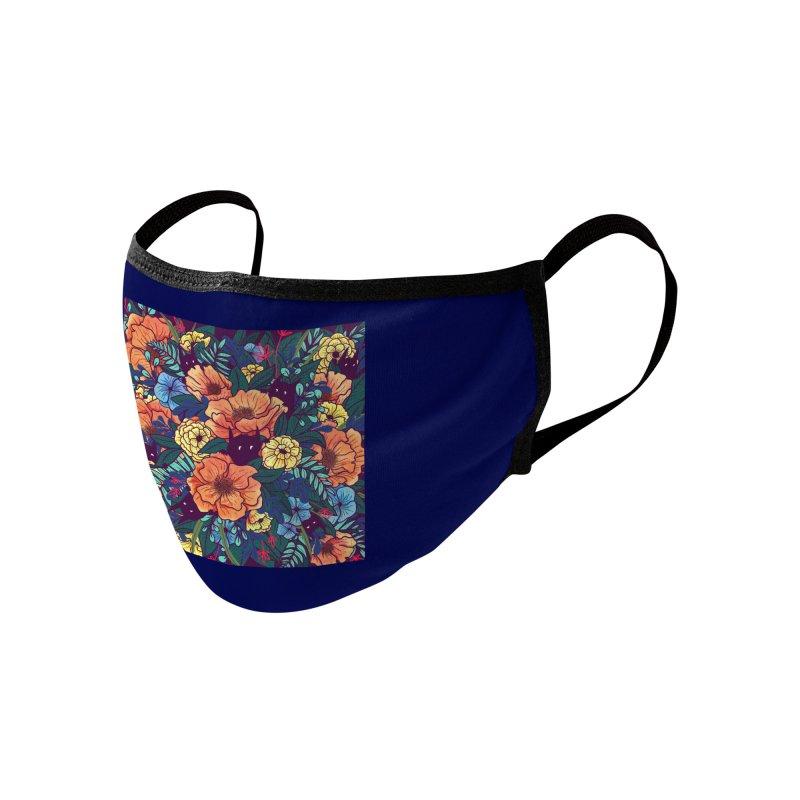 Wild Flowers Accessories Face Mask by Threadless Artist Shop