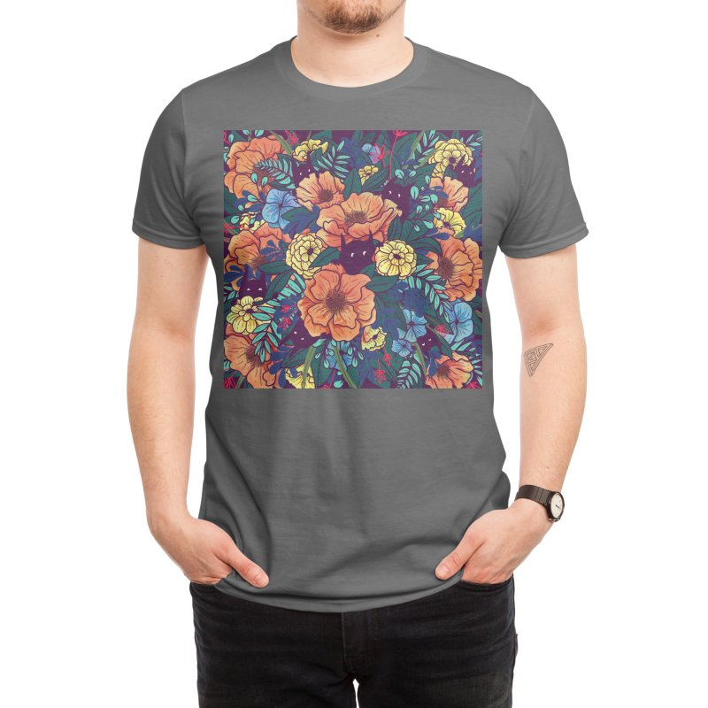 Wild Flowers Men's T-Shirt by Threadless Artist Shop
