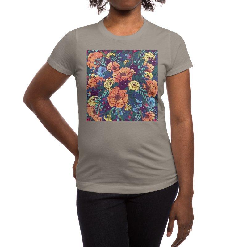Wild Flowers Women's T-Shirt by Threadless Artist Shop