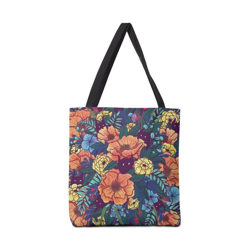 Wild Flowers Accessories Bag by Threadless Artist Shop