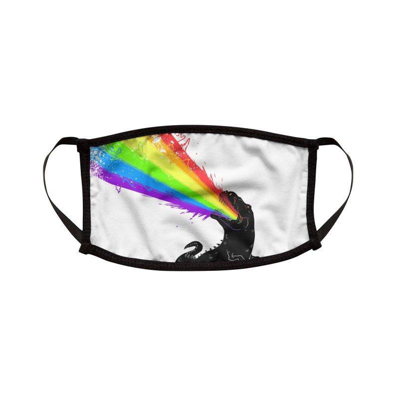 Technicolour Rex Accessories Face Mask by Threadless Artist Shop